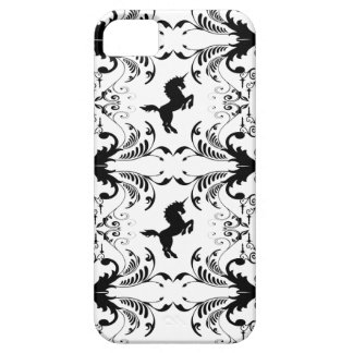 Vintage unicorn chandelier pattern iPhone 5 cover