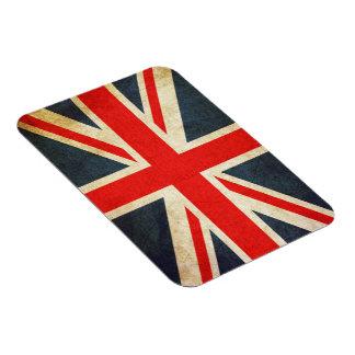 Vintage Union Jack British Flag Flexi Photo Magnet