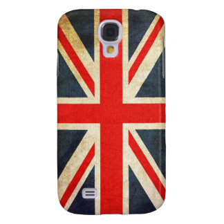 Vintage Union Jack British Flag Galaxy S4 Case