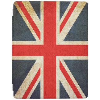 Vintage Union Jack British Flag iPad Cover
