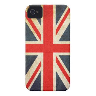 Vintage Union Jack British Flag iPhone 4 Case
