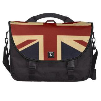 Vintage Union Jack British Flag Bag For Laptop