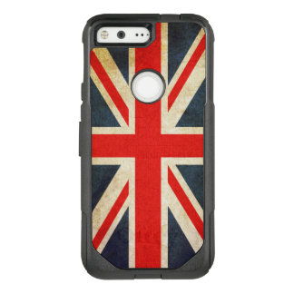 Vintage Union Jack British Flag OtterBox Commuter Google Pixel Case