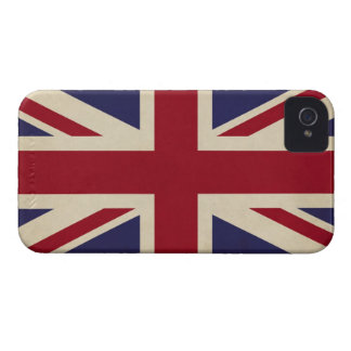 Vintage Union Jack British Flag Retro iPhone 4 Case