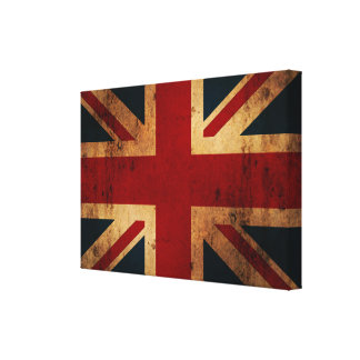 Vintage Union Jack Canvas Print