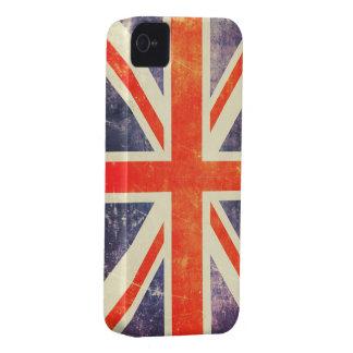 Vintage Union Jack flag iPhone 4 Cover