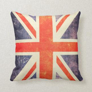 Vintage Union Jack flag Cushion