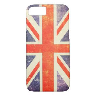 Vintage Union Jack flag iPhone 7 Case