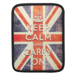 Vintage Union Jack flag Sleeve For iPads