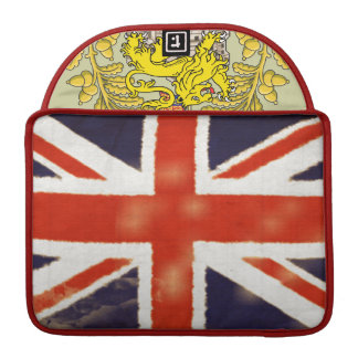 Vintage Union Jack Posh MacBook Pro Sleeve