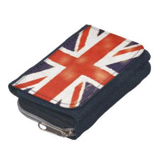 Vintage Union Jack UK Flag Coin Purse Wallet