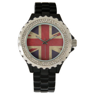 Vintage United Kingdom Flag Watch