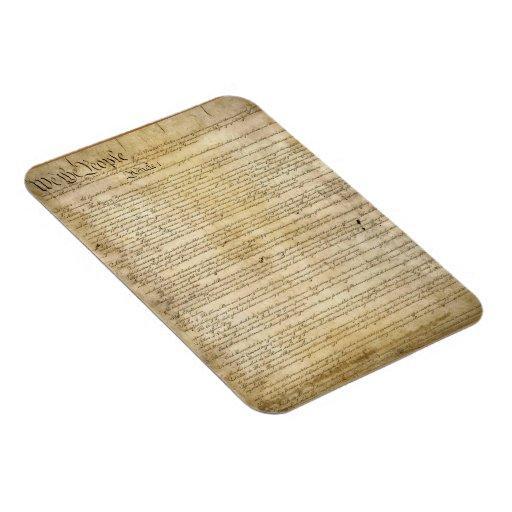 Vintage United States Constitution Magnets