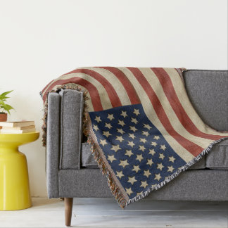 Vintage United States of America Flag