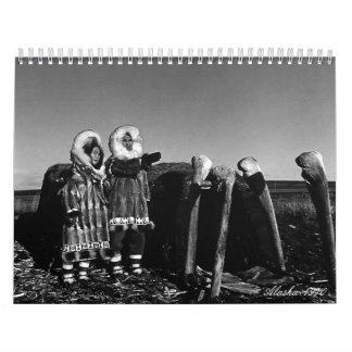 Vintage USA Alaska 1970 Calendar