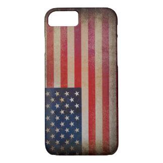 Vintage USA Flag iPhone 7 case