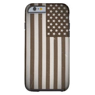 Vintage USA Flag Tough iPhone 6 Case