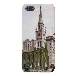 Vintage USA, Marble Church New York, iPhone case iPhone 5 Covers