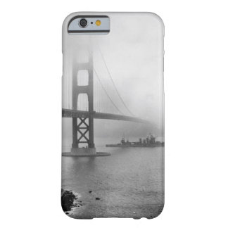 Vintage USS San Francisco Golden Gate Bridge Barely There iPhone 6 Case