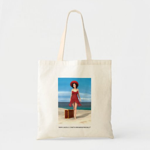 Vintage Vacation Tote Bag