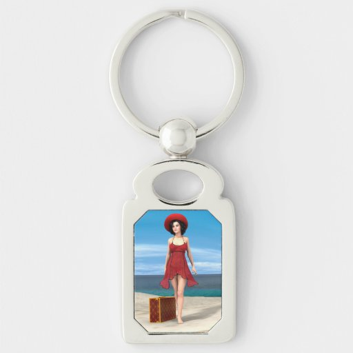 Vintage Vacation Key Chain