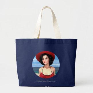 Vintage Vacation Tote Bags