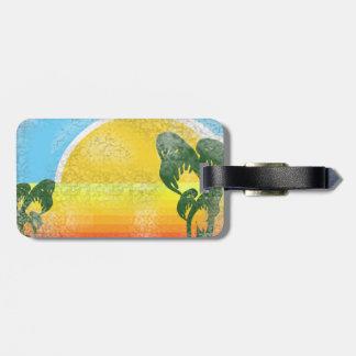 Vintage Vacation Travel Tag Travel Bag Tag