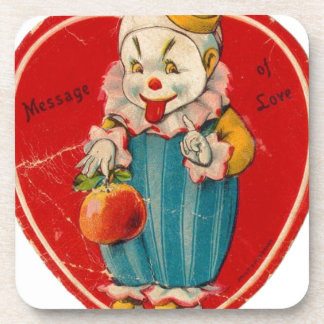 Vintage Valentine Beverage Coaster
