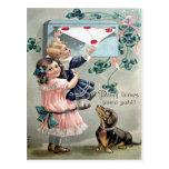 Vintage Valentine Dachshund