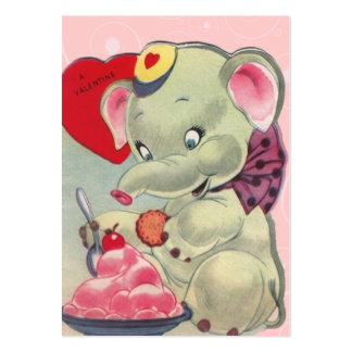 Vintage Valentine Kid Cards Pack Of Chubby Business Cards