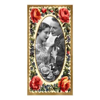 Vintage Valentine Photo Card