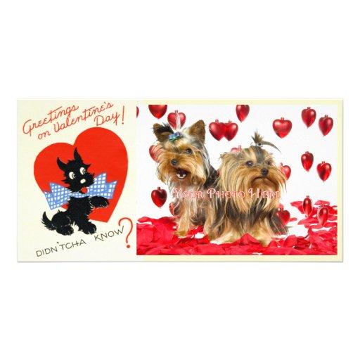 Vintage Valentine Photo Cards!