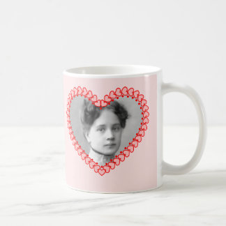 Vintage Valentine Photo Mug