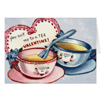 Vintage Valentine s Day Card for Kids