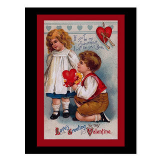 Vintage Valentine s Day Card Post Cards