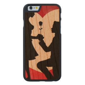 Vintage : Valentine's day - Carved Cherry iPhone 6 Case