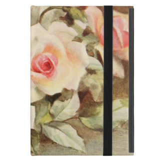 Vintage Valentine's Day Love Romance Pink Roses iPad Mini Case