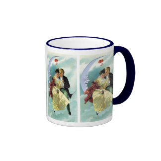Vintage Valentine's Day Victorian Love and Romance Coffee Mugs