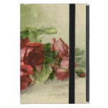 Vintage Valentine's Day, Victorian Red Roses Covers For iPad Mini
