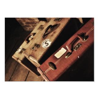 Vintage Valises -Vintage Suitcase Custom Announcement