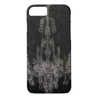 Vintage vampire gothic distressed chandelier iPhone 8/7 case