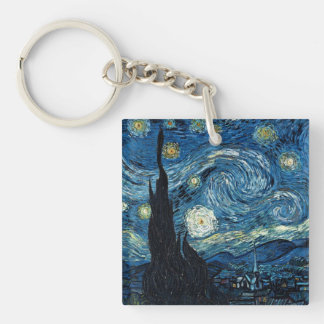 Vintage Van Gogh Keychains