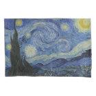 Vintage Van Gogh Starry Night Pillowcase