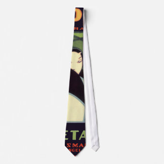 Vintage Vegetable Label, Art Deco Couple, Topper Tie