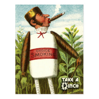 Vintage Vegetable Postcard Series: Tobacco