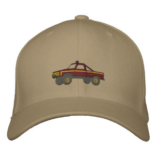 Vintage Vehicle Embroidered Baseball Caps