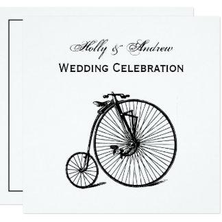 Vintage Velocipede Bicycle Bike Card