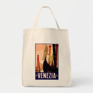 Vintage Venezia Tote Bag