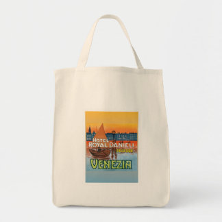 Vintage Venezia Italy Canvas Bag