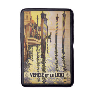 Vintage Venice Italy Travel Poster bath mats